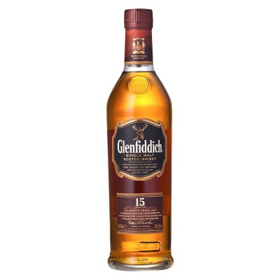 Glenfiddich格兰菲迪15年单一麦芽威士忌 700ml