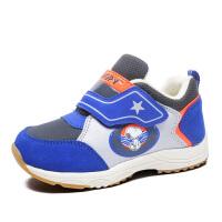 史努比童鞋男童机能鞋冬季新款儿童学步鞋加绒保暖宝宝棉鞋