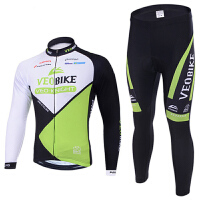 男女款山地车自行车服户外运动单车骑行服短袖长袖套装