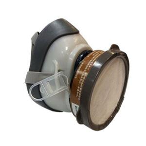 3M   1201尘毒呼吸防护套装防毒面具(1200)半面罩 活性炭 喷漆