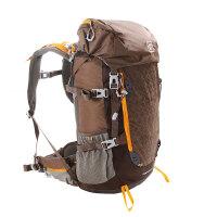 探路者TOREAD男女户外35升双肩背包登山徒步包带防雨罩 TEBC90608