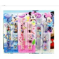 儿童礼品迪士尼文具米奇小学生文具套装学习用品套装批发DM0008