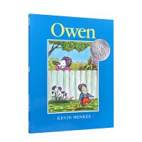 Owen (Caldecott Honor Book) 阿文的小毯子(凯迪克银奖,平装) ISBN9780062413086