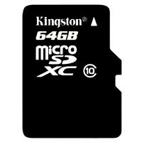 【包邮】Kingston 金士顿 64G TF MicroSDHC 高速手机存储卡 64gTF卡 64g手机内存卡 存储卡 Class10 64g内存卡  手机内存卡存储卡闪存卡手机卡MicroSD卡TF卡行车记录仪卡 所有支持64GTF卡的手机均可使用