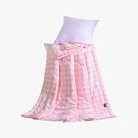 当当优品家纺 水洗棉裸睡夏凉被 110x150单人空调被 俏丽(粉)