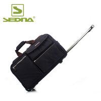 赛德纳(Sedna)短途拉包商务旅行袋防水行李包棉纶布手提拉杆包潮 SDN645T