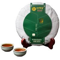 七彩云南茶叶普洱茶 寿熟饼357g