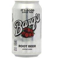 Coca-Cola可口可乐树根饮料 355ml*12罐 (整箱)Coca-Cola's Barq's root beer USA美国原装进口伯克沙士