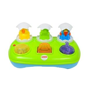Fisher Price 费雪 敲击玩具 小鸟弹弹盒 Y8650