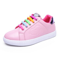 史努比童鞋春季新款白色板鞋女童小白鞋女学生板鞋