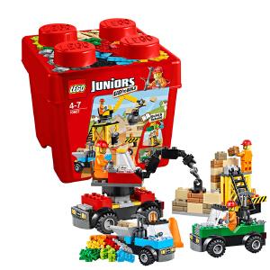 [当当自营]LEGO 乐高 小拼砌师系列 建筑工地 积木拼插儿童益智玩具 10667