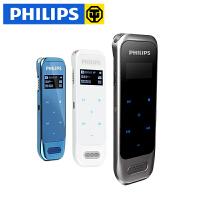 Philips 飞利浦录音笔 VTR6600 高清 远距 降噪 专业微型触控mp3 8G大内存 配置=主机(8G)+耳机+数据线+绒布袋+说明书保修卡