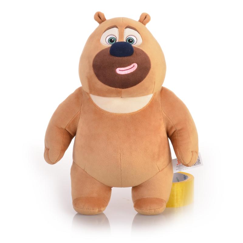 【全店支持礼品卡】正版熊出没雪岭熊风团子熊大二光头强毛绒玩具公仔
