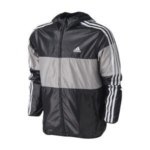 adidas阿迪达斯男装外套夹克三条纹运动服AY3811