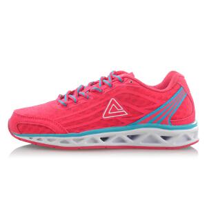 匹克 PEAK 新款运动鞋女款 防滑耐磨透气轻便轻逸跑鞋 E32478H