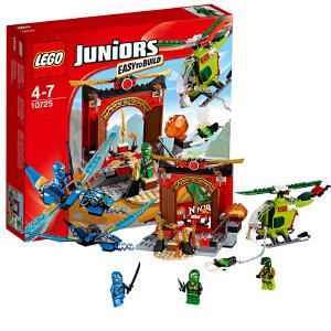 [当当自营]LEGO 乐高 小拼砌师系列 幻影忍者神殿保卫战 积木拼插儿童益智玩具 10725