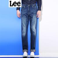 Lee 【新款】2017春夏新品鸡年水洗磨白牛仔裤男 735版型 中腰直脚直筒版型 L137351XJ4NH