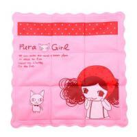 夏季冰枕冰垫儿童冰凉枕宝宝卡通水枕头大号普拉达女孩