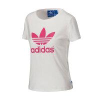 adidas阿迪达斯三叶草女装短袖T恤运动服AJ8084