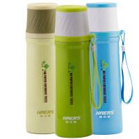 哈尔斯不锈钢真空保温杯男女士学生儿童便携茶水杯500ML旅行水瓶