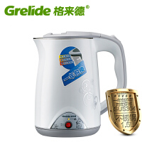 Grelide/格来德 WWK-D1507B保温电水壶自动断电304不锈钢电热水壶