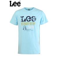 Lee 专柜正品时尚纯棉圆领短袖T恤L11005J06441