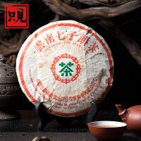 云南七子饼茶 2003年中茶 14年老生茶 纯干仓存放  357克生茶饼