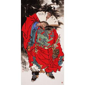 中国国画家协会理事 国家一级美术师 河北省美协会员 杨航彪 《钟馗神威》