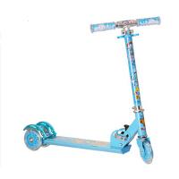 闪光震折叠踏板车儿童滑板车儿童三轮滑板车