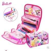 芭比画画袋儿童 创意绘画套装 小学生水彩笔工具包 画袋套装  多款选择  美劳派