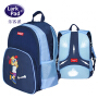 Larkpad男女儿童书包小学生1-3-6年级6-12周岁一年级超轻护脊背包