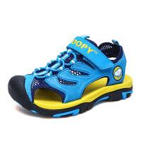 史努比童鞋新款中小童宝宝运动凉鞋儿童沙滩凉鞋