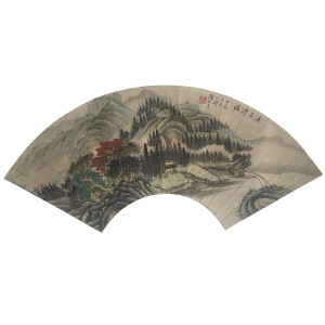 陶冷月 《溪居清旷》 中美协上海分会会员