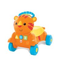 【当当自营】费雪二合一老虎学步车(双语)多功能推车学步车宝宝手推车CDC21