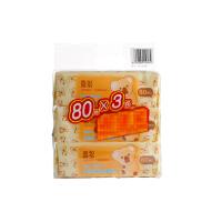 【当当自营】喜多 婴儿护肤柔湿巾湿纸巾80p*3