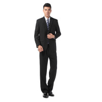 男式商务西装套装秋冬商务白领单排二粒扣男士正装