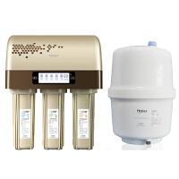 Haier海尔净水器HRO5003-5进口陶氏RO膜反渗透过滤家用净水器 直饮纯水机