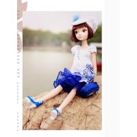 可儿芭比中国娃娃七周年纪念版1122 女孩玩具生日礼物
