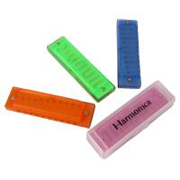 儿童口琴 奥尔夫幼儿音乐乐器早教教具 彩色盒装10音塑料口琴玩具 AF25330