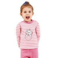 迪士尼宝宝冬日暖宝黄金绒卡通男女童套装 儿童保暖内衣套装
