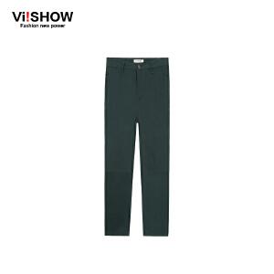 VIISHOW秋装新款休闲裤 韩版男士休闲长裤 修身直筒男裤长裤 K139453