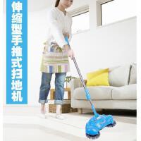 手动家用手推式扫地机 粉色