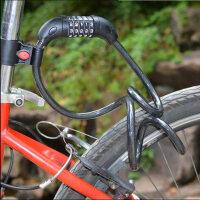 【618年中促】山地车自行车zxc锁密码锁防盗锁骑行装备工具5位密码锁