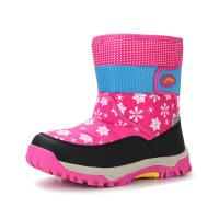 camkids小骆驼童靴 女童棉靴 儿童雪地靴 中童鞋 循环锁温微防雪水渗入 586208
