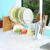 宝优妮碗架沥水架不锈钢碗筷收纳架刀架厨房用品挂架碗碟架置物架