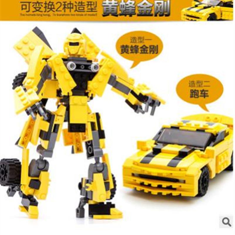 【全店支持礼品卡】古迪积木拼装变形机器人金刚汽车益智大黄蜂擎天柱