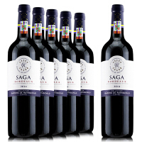 法国原装进口红酒 拉菲传说波尔多红葡萄酒 750ml*6 整箱
