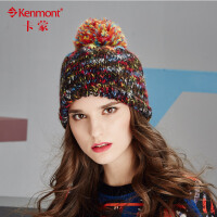 冬天帽子女韩国编织毛线帽冬季时尚女士针织帽套头帽保暖护耳帽1718