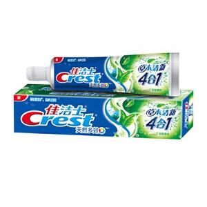 [当当自营] 佳洁士 天然多效 草本清新四合一牙膏180g(草本成分 持久清新口气)