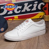 Dickies男鞋2017夏季新款韩版休闲鞋子男士真皮学生板鞋潮流百搭171M50LXS25